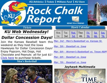 Rock Chalk Report Sample